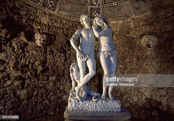 Adam and Eve by Michelangelo Noccherini