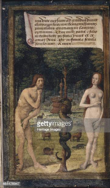 Adam and Eve ca 14901510 Found in the collection of the The Huntington California