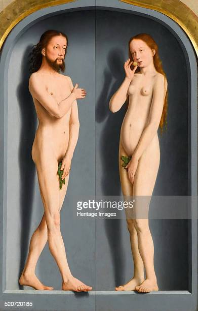 Adam and Eve Found in the collection of Louvre Paris