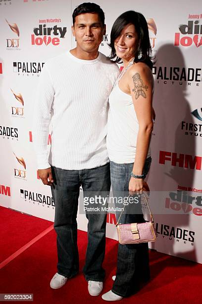 Adam and Tara Mason Beach attends First Look Pictures and FHM Magazine Present Jenny McCarthy's 'Dirty Love' Film Premiere and AfterParty at Arclight...