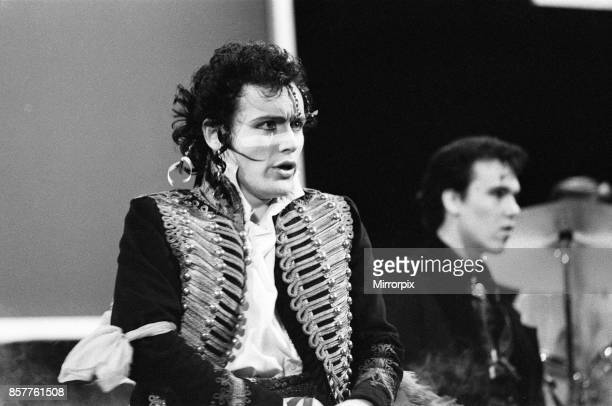 Adam and the Ants performing at the British Rock and Pop awards 24th February 1981