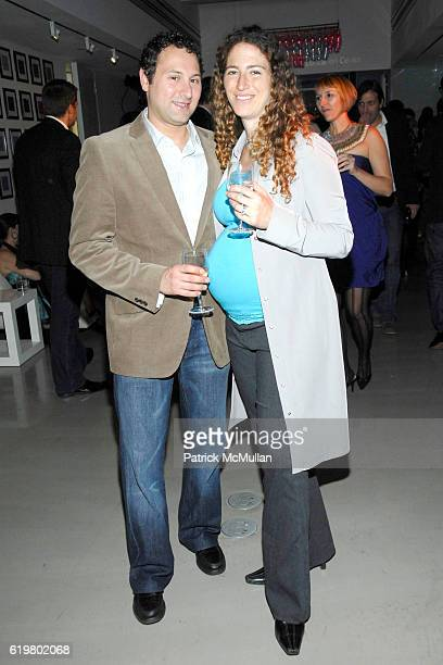 Adam Andres and Odelia Andres attend 2008 NATIONAL DESIGN AWARDS at COOPERHEWITT at CooperHewitt on October 23 2008 in New York City