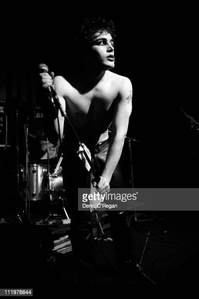Adam Ant live at London's Marquee Club in 1980