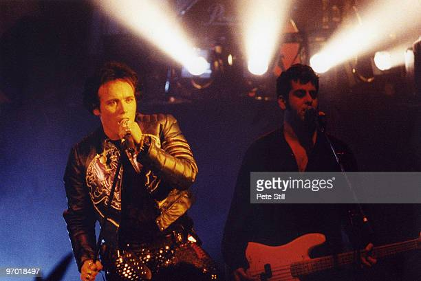 Adam Ant of Adam and the Ants performs on stage on his solo tour at The Empire Theatre in Shepherds Bush on March 22nd 1995 in London England