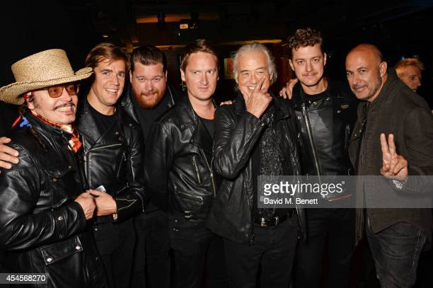 Adam Ant Pelle Almqvist Vigilante Carlstroem Randy Fitzsimmons Jimmy Page Niklas Almqvist and John Varvatos attend as John Varvatos launch their...