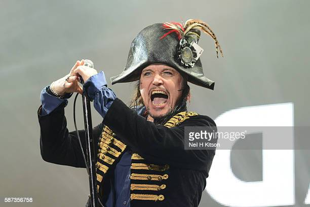 Adam Ant Performs at Capesthorne Hall on August 06 2016 in Macclesfield England