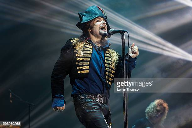Adam Ant performs at Rewind South at Temple Island Meadows on August 21 2016 in HenleyonThames England