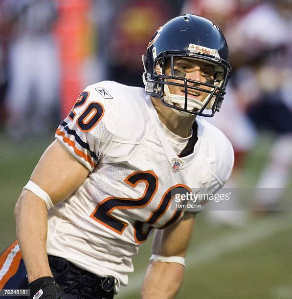 Adam Archuleta of the Chicago Bears runs during an NFL game against the Kansas City Chiefs at Soldier Field September 16 2007 in Chicago Illinois