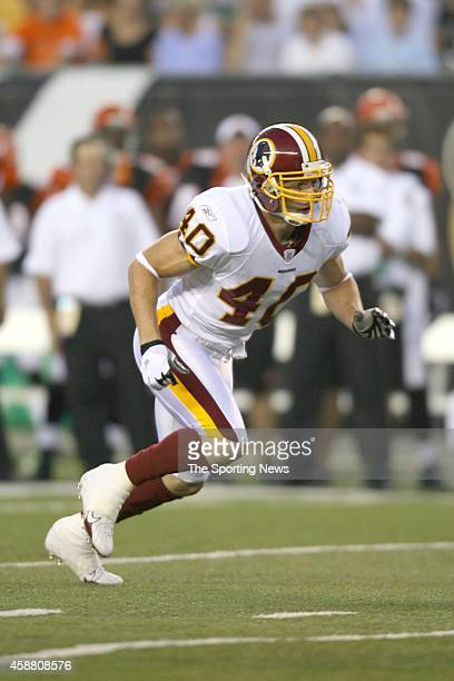 Adam Archuleta of the Washington Redskins in action during a game against the Cincinnati Bengals on August 13 2006 at the Paul Brown Stadium in...
