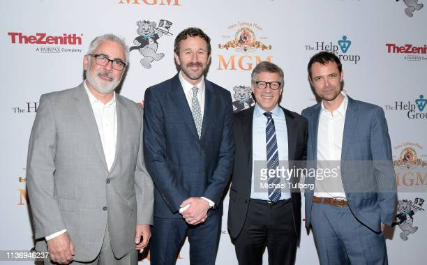 Adam Arkin Chris O'Dowd Steve Stark and Davey Holmes attend The Help Group's 21st Annual Teddy Bear Ball benefiting children with autism at The...