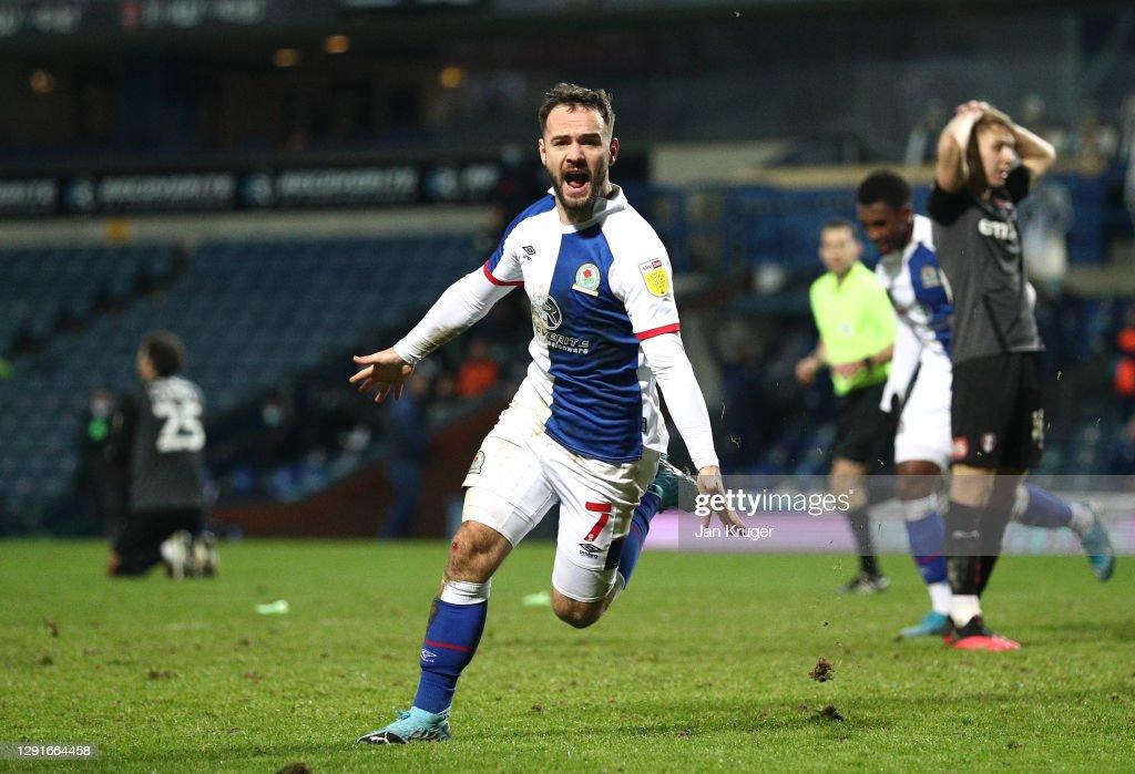 Blackburn Rovers v Rotherham United - Sky Bet Championship : ニュース写真