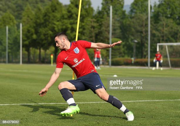 Adam Armstrong of England during an England training session at the Jeonbuk FC Training Field ahead of the FIFA U20 World Cup on May 18 2017 in...