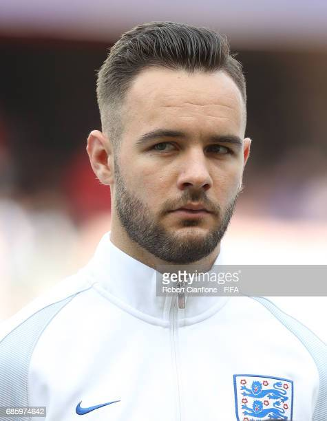 Adam Armstrong of England during the FIFA U20 World Cup Korea Republic 2017 group A match between Argentina and England at Jeonju World Cup Stadium...