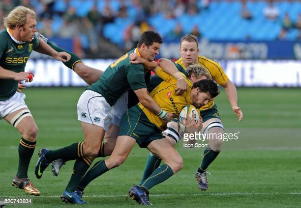 Adam Ashley Cooper / Jean de Villiers / Morne Steyn Afrique du Sud / Australie Tri Nation Stade Loftus Versfeld