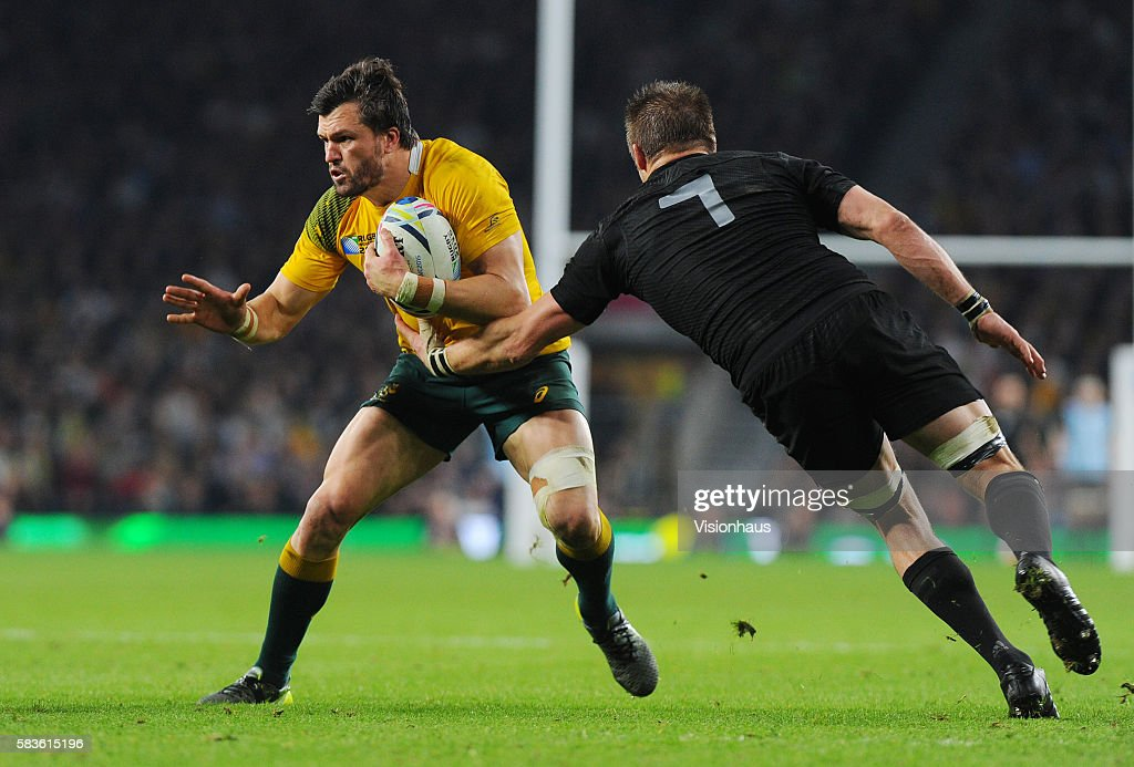 Rugby Union - Rugby World Cup Final 2015 - New Zealand vs. Australia : News Photo