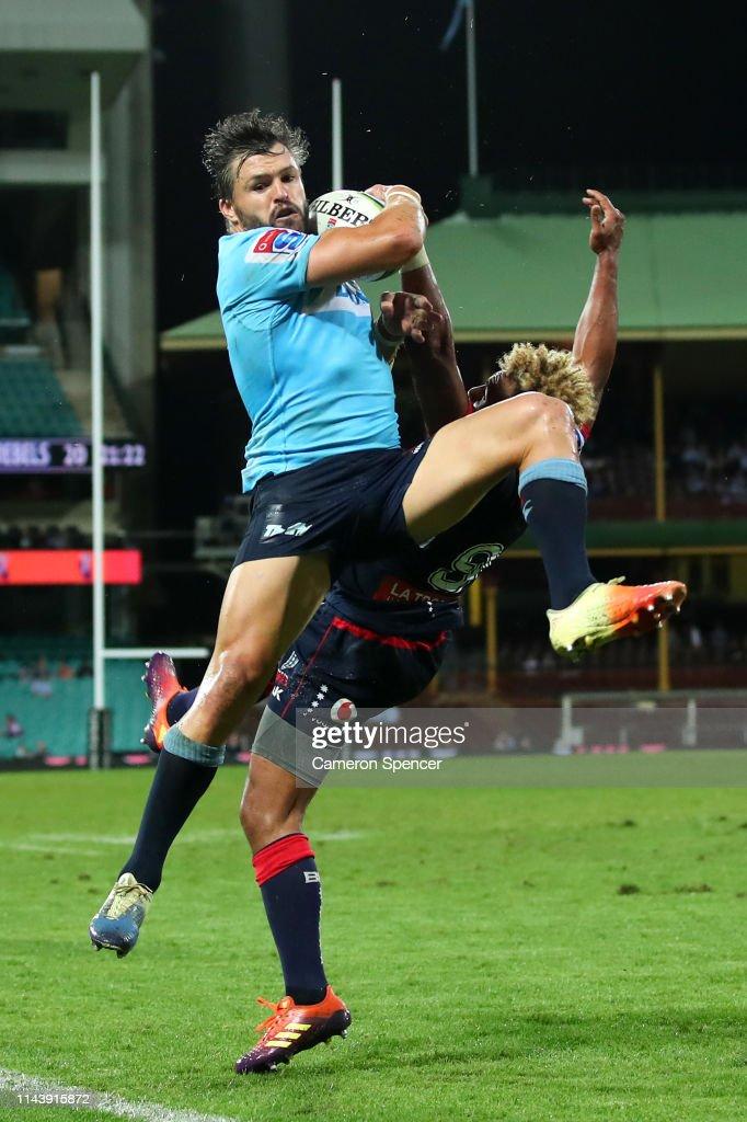 Super Rugby Rd 10 - Waratahs v Rebels : News Photo