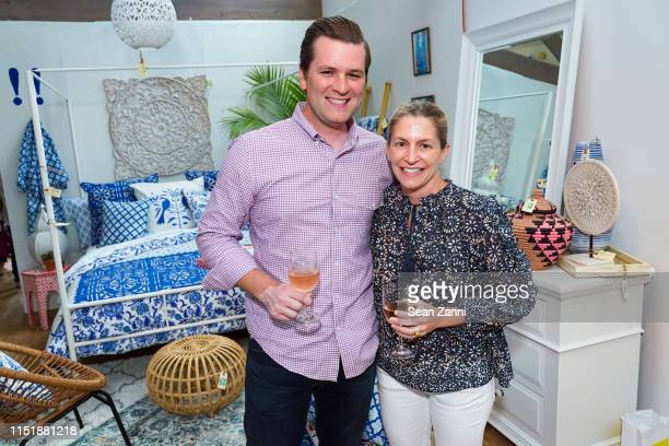 Adam Backman and Michele Backman attend the ARF Thrift Shop Designer Show House & Sale on May 25, 2019 in Sagaponack, New York.