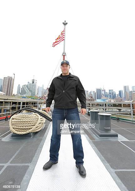 Adam Baldwin attends 'The Last Ship' New York Fleet Week screening at Pier 92 on May 21 2014 in New York City