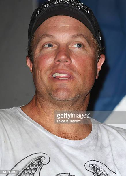 Adam Baldwin attends the London Film and Comic Con at Olympia Exhibition Centre on July 7 2012 in London England