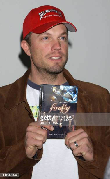 Adam Baldwin during Los Angeles Comic Book and Science Fiction Convention Presents 'Firefly' at The Shrine Auditorium in Los Angeles California...