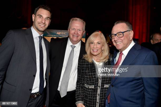 Adam Baruch Richard Baxter guest and Stephen Siegel attend the Best of New York and Israel at AFRMC Gala Honoring Cardinal Dolan Scott Rechler with...