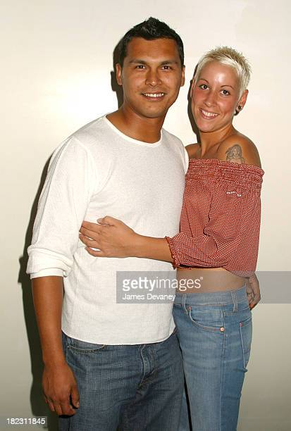 Adam Beach and Tara Mason during Cherish New York Premiere After Party at Pressure 110 University Place in New York City New York United States