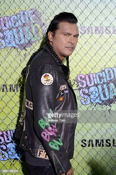 Adam Beach attends the 'Suicide Squad' World Premiere at The Beacon Theatre on August 1 2016 in New York City