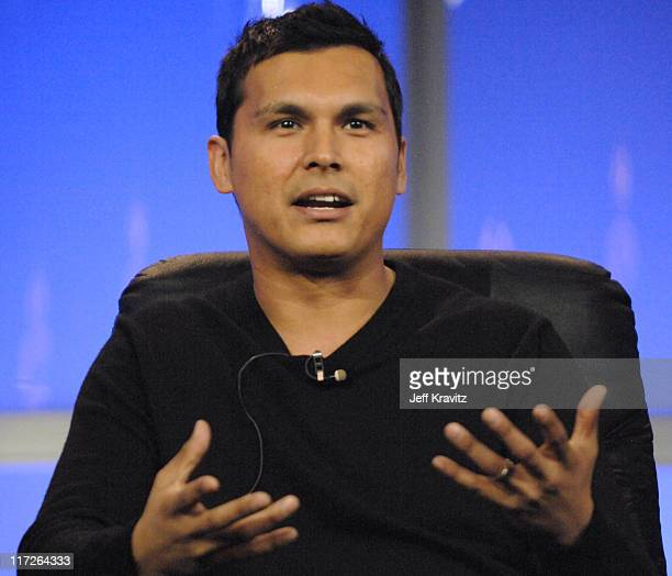 Adam Beach of Bury My Heart at Wounded Knee during HBO Winter 2007 TCA Press Tour in Los Angeles California United States