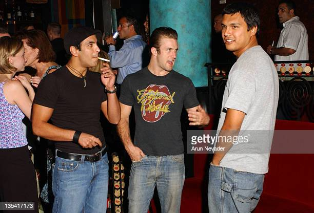 Adam Beach Scott Caan director of 'Dallas 362' and Val Lauren