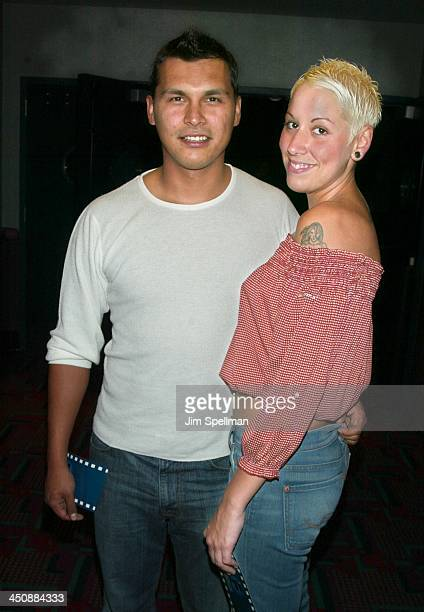 Adam Beach Tara Mason during Cherish New York Premiere at UA Union Square 14 in New York City New York United States