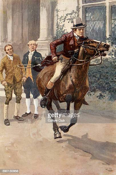 Adam Bede by George Eliot Illustrations by Gordon Browne Arthur sets off at a gallop to Stoniton after hearing about Hetty Sorrel's imprisonment GE...