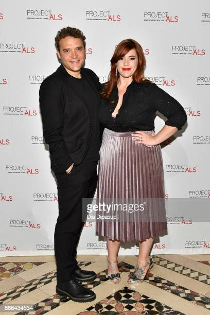 Adam BenDavid and Alysha Umphress attend the 19th Annual Project ALS Benefit Gala at Cipriani 42nd Street on October 25 2017 in New York City