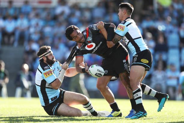 AUS: NRL Rd 23 - Sharks v Warriors