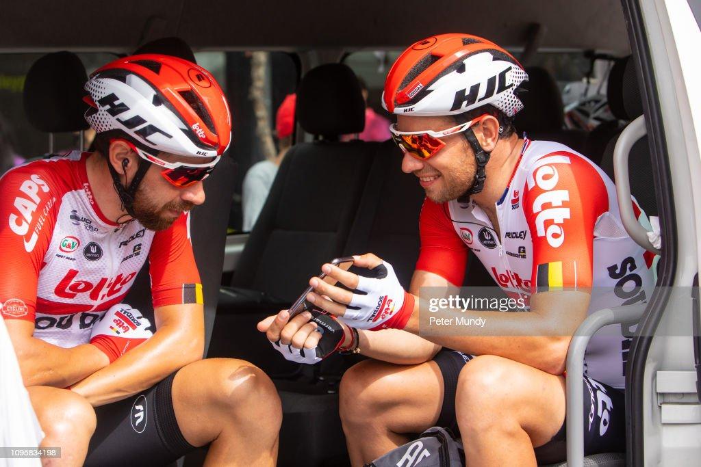 21st Santos Tour Down Under 2019 - Stage 4 : Fotografia de notícias