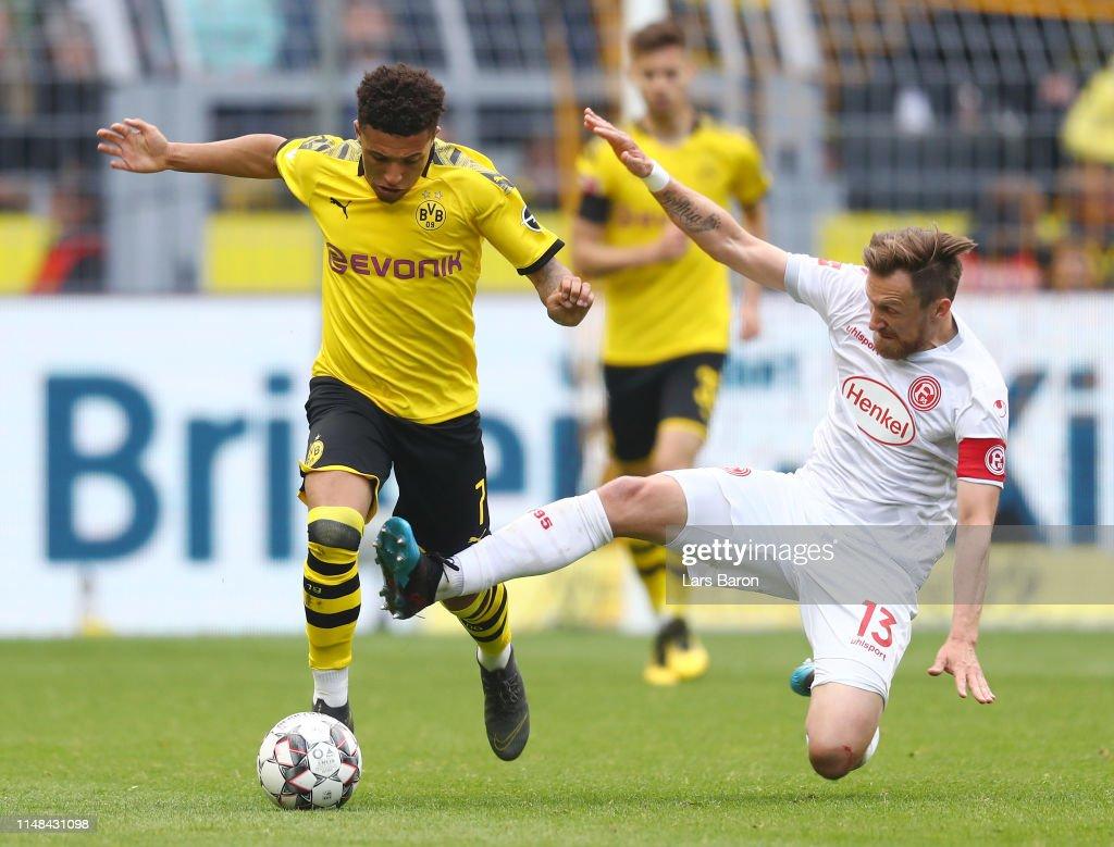 DEU: Borussia Dortmund v Fortuna Duesseldorf - Bundesliga