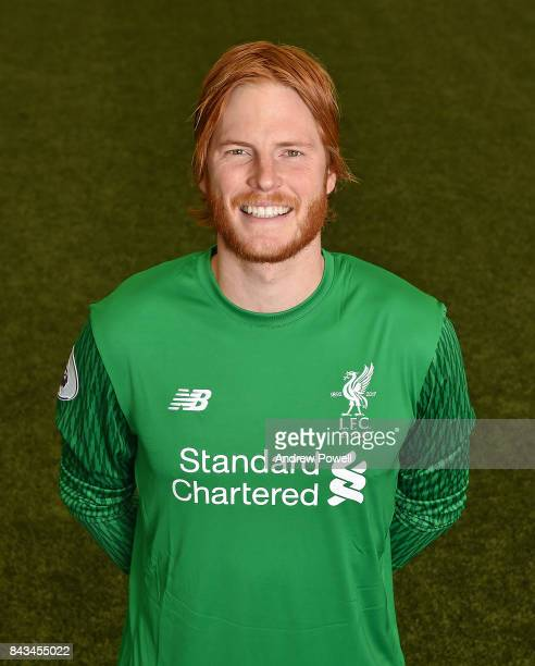 Adam Bogdan of Liverpool at Melwood Training Ground on September 1 2017 in Liverpool England