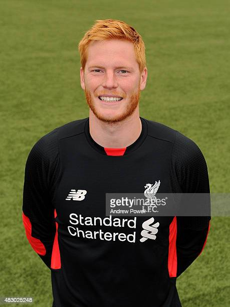 Adam Bogdan of Liverpool during a portrait shoot at Melwood Training Ground on August 5 2015 in Liverpool England