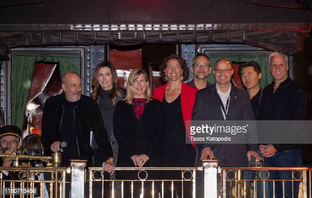 Adam Bold Emily Bold Melissa Hortman Mayor Emily Larson Todd Quinn Representative Dave Lislegard Brian Cho Robert Attermann attend the VIP Party...