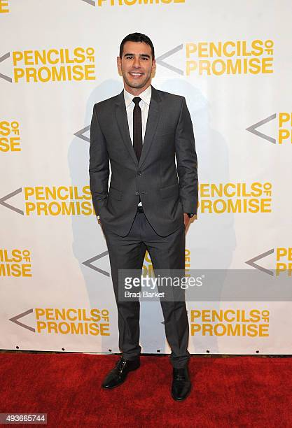 Adam Braun attends the Pencils Of Promise Gala 2015 at Cipriani Wall Street on October 21 2015 in New York City
