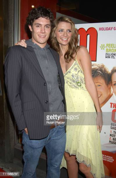 Adam Brody and Mischa Barton during The Cast of the Fox TV Series The OC YM Cover Party at LQ in New York City New York United States