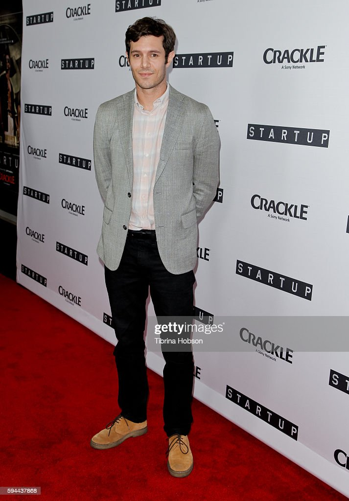 Adam Brody attends the premiere of Crackle's 'Startup' at The London Hotel on August 23, 2016 in West Hollywood, California.