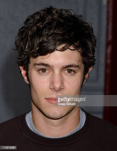Adam Brody during 2004 Fox AllStar Party at 20th Century Fox Studios in Los Angeles California United States