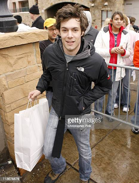Adam Brody during 2007 Park City Seen Around Town Day 3 at Streets of Park City in Park City Utah United States
