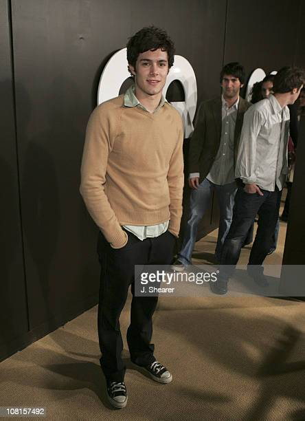 Adam Brody during GQ Magazine Celebrates its 2004 Men of the Year Red Carpet at Lucques Restaurant and Ago Restaurant in Los Angeles California...