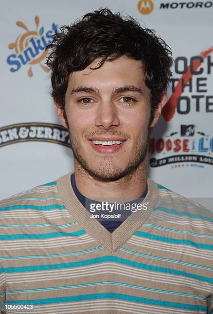 Adam Brody during Rock The Vote 2004 National Bus Tour Arrivals at Avalon Hollywood in Hollywood California United States
