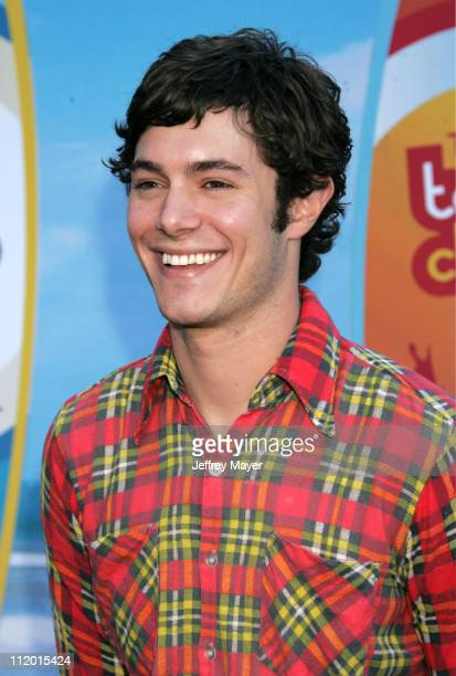 Adam Brody during The 2004 Teen Choice Awards Arrivals at Universal Ampitheatre in Universal City California United States