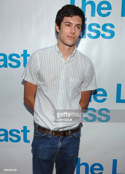 Adam Brody during 'The Last Kiss' Listening Party at Privilege in Hollywood California United States