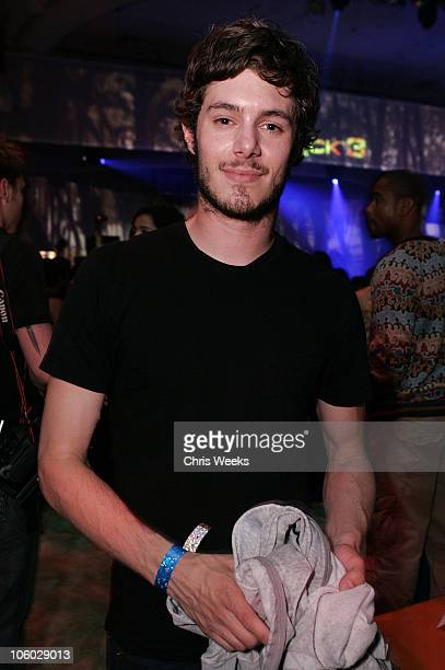 Adam Brody during TMobile Sidekick 3 Launch Party Inside at The Paladium in Hollywood California United States