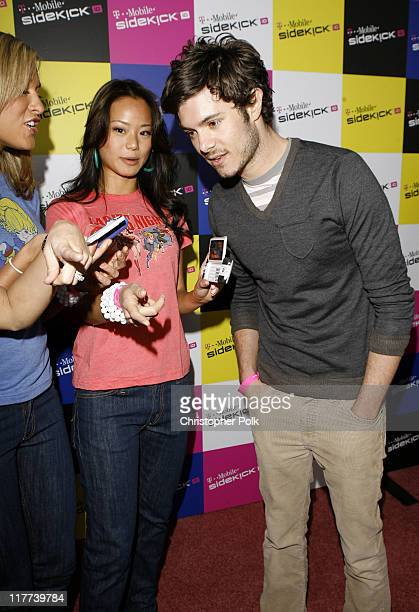 Adam Brody during TMobile Sidekick iD Launch Arrivals in Los Angeles California United States