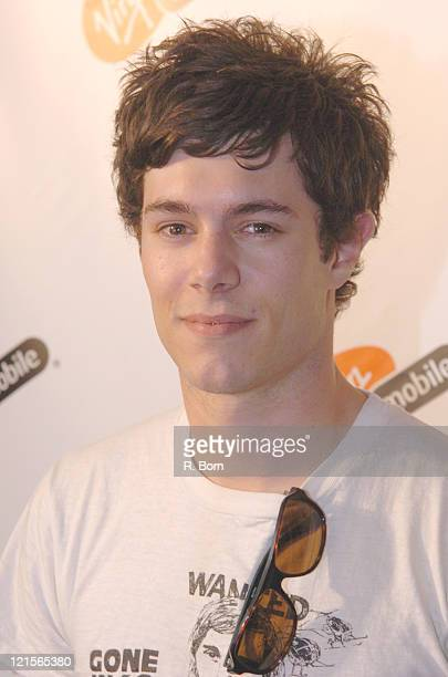 Adam Brody during Virgin Mobile Presents 3 Ways To Pay As You Go at Sky Studio in New York City New York United States